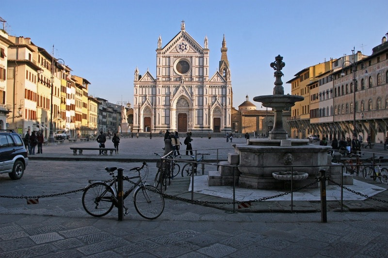 Церковь Санта-Кроче во Флоренции