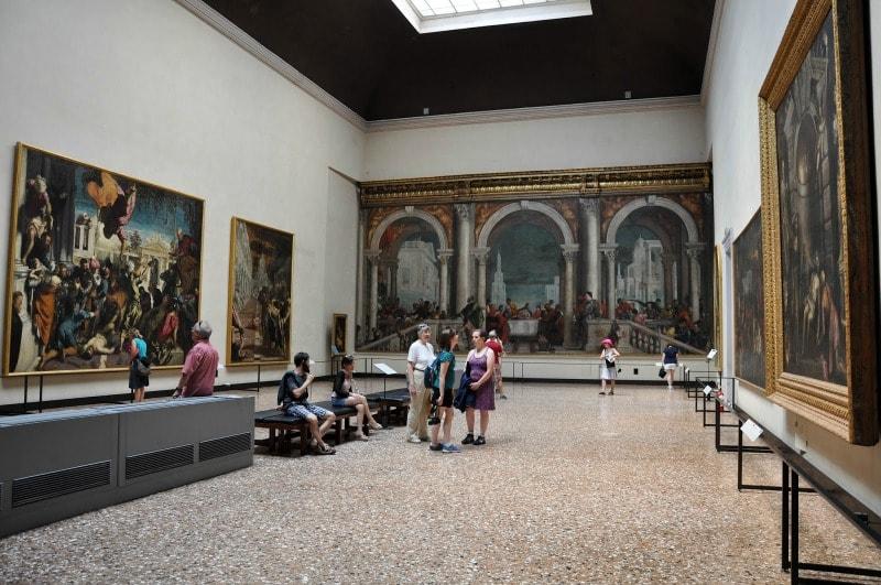 Экспозиция галереи Уффици в Венеции