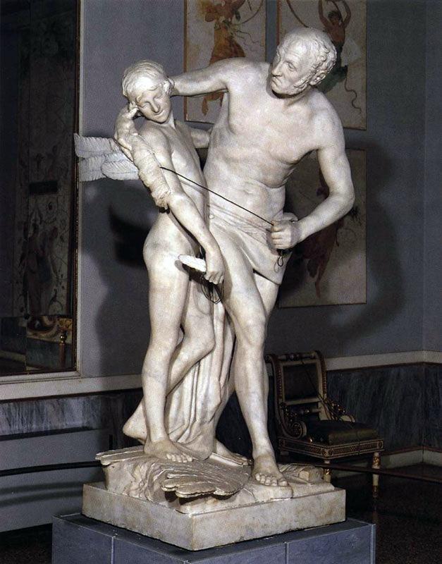 """Антонио Канова """"Дедал и Икар"""" в музее Коррер, Венеция"""