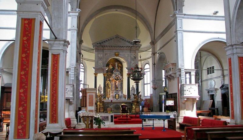 Алтарь церкви Санта-Мария Формоза