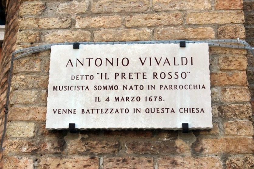 Надпись Вивальди
