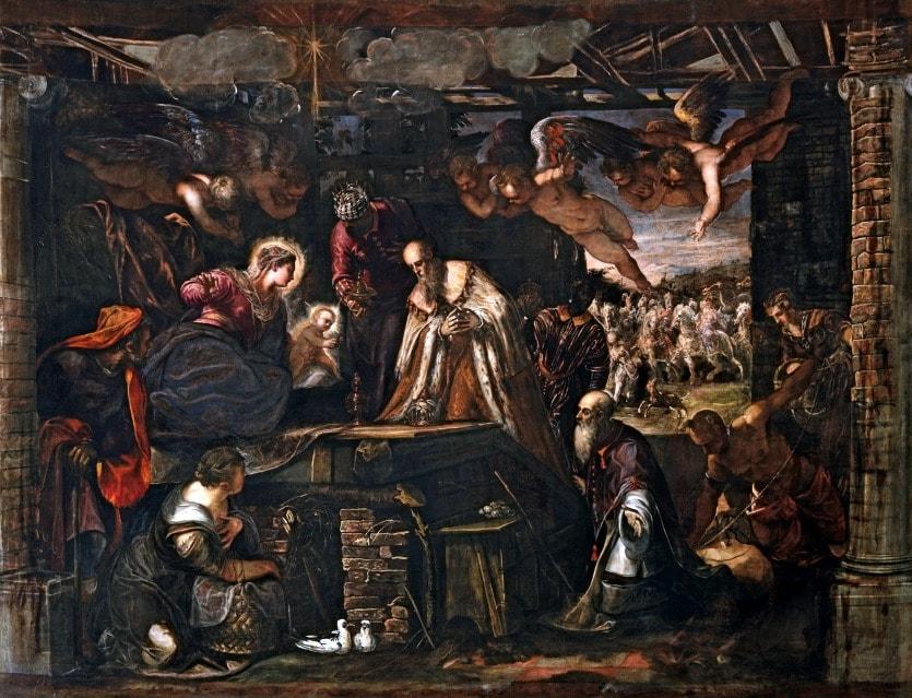 Тинторетто Поклонение пастухов