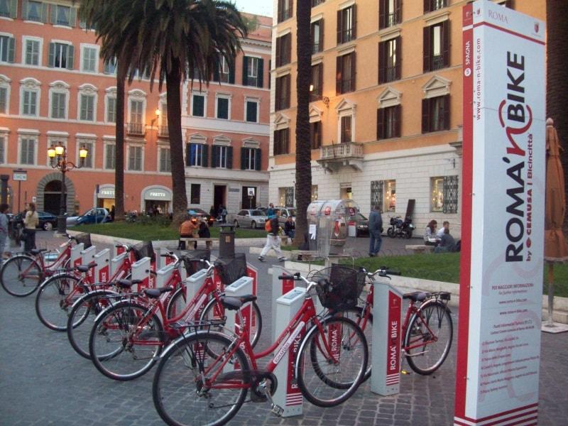 Римские велосипеды