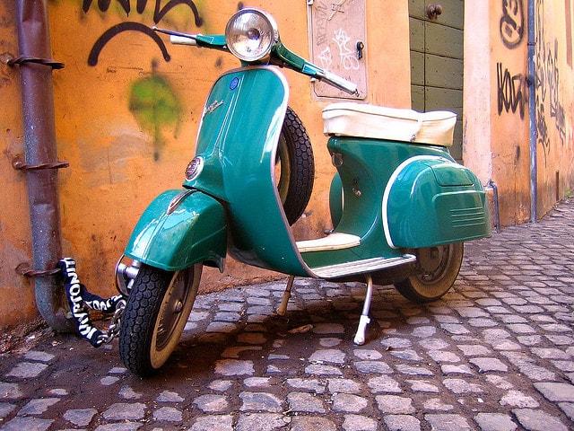 Мопеды в Риме