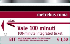 Билет на общественный транспорт BIT