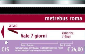 Билет на общественный транспорт CIS