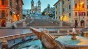 Испанская площадь в Риме – самое популярное место в городе