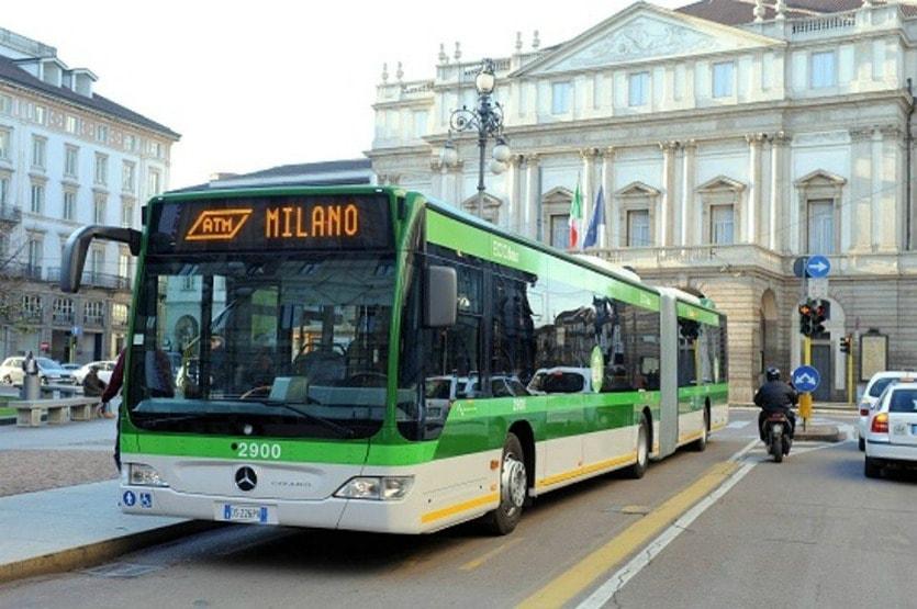 автобус Милана