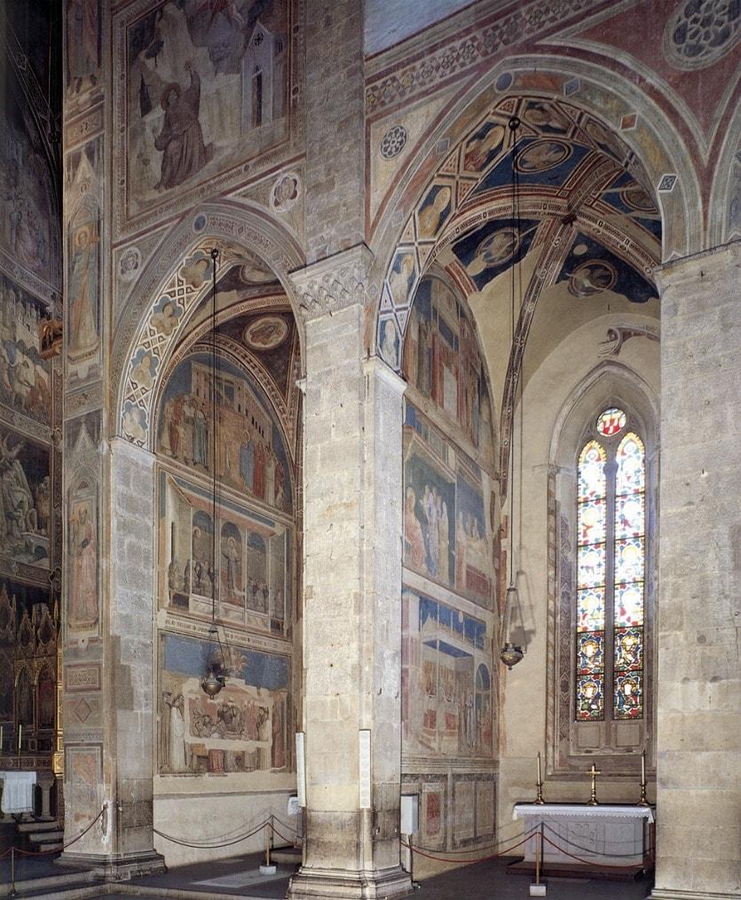 Базилика Санта-Кроче фрески