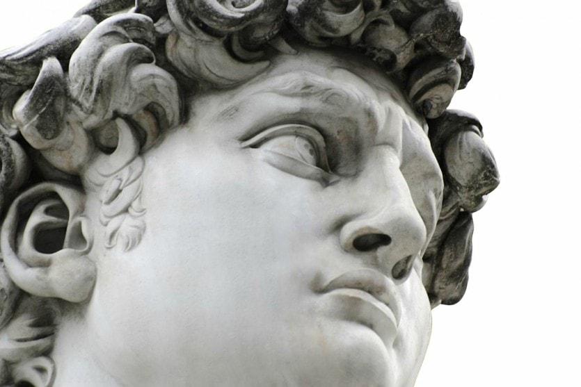 Давид в Галерее Академии изящных искусств во Флоренции