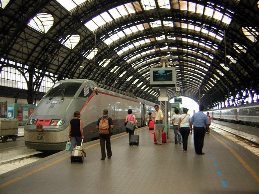 Электропоезда в Милане