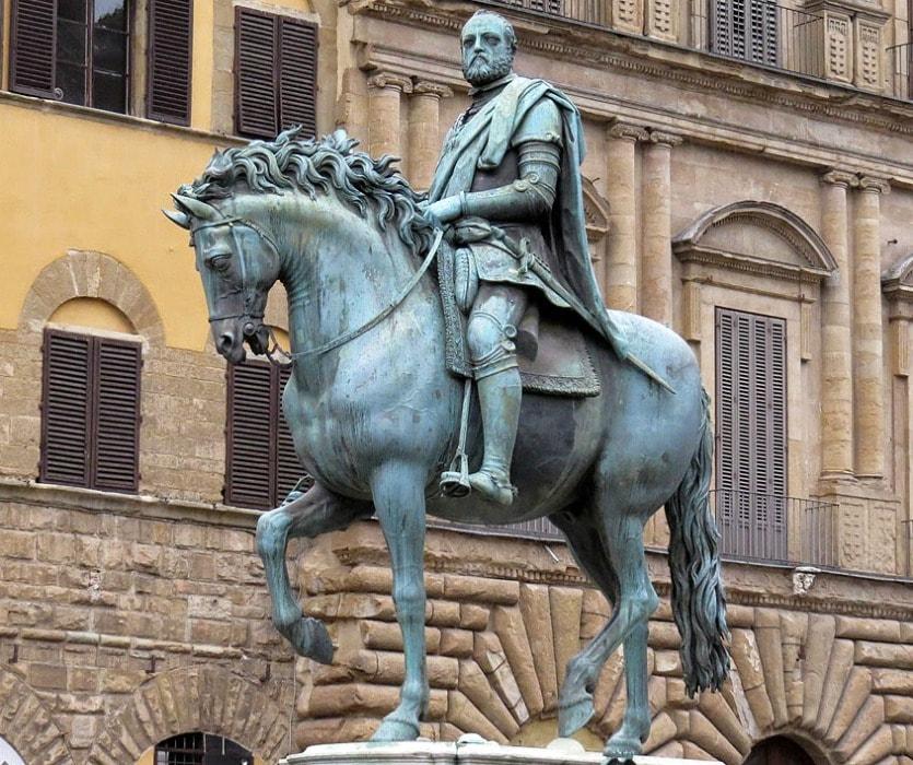 Конная статуя