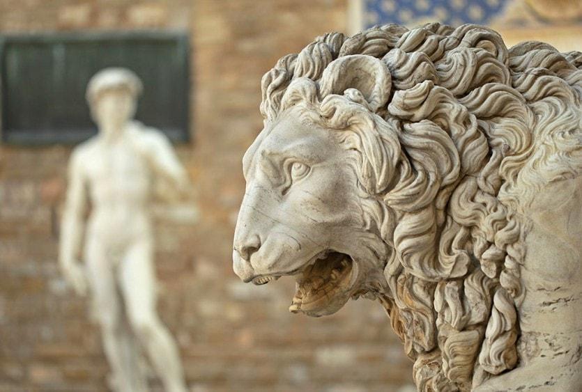 Копия статуи «Давида» из Галереи Академии во Флоренции