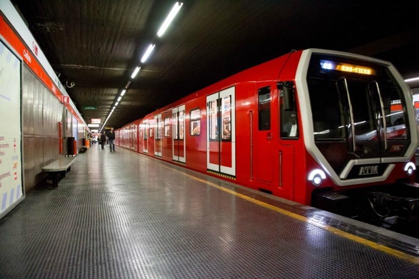 Метрополитен в Милане