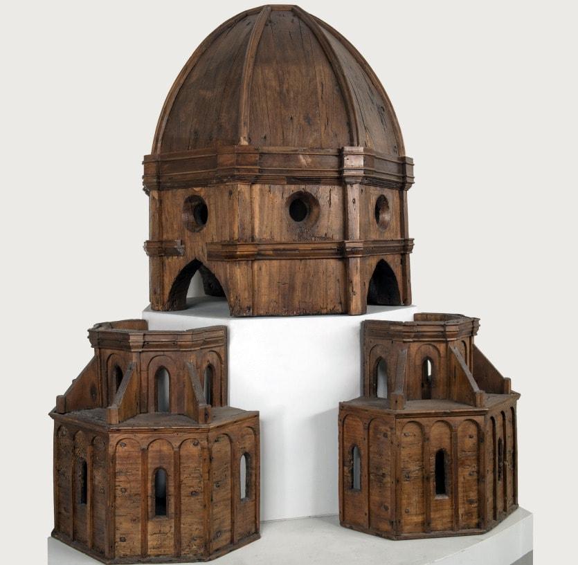 модель купола санта мария