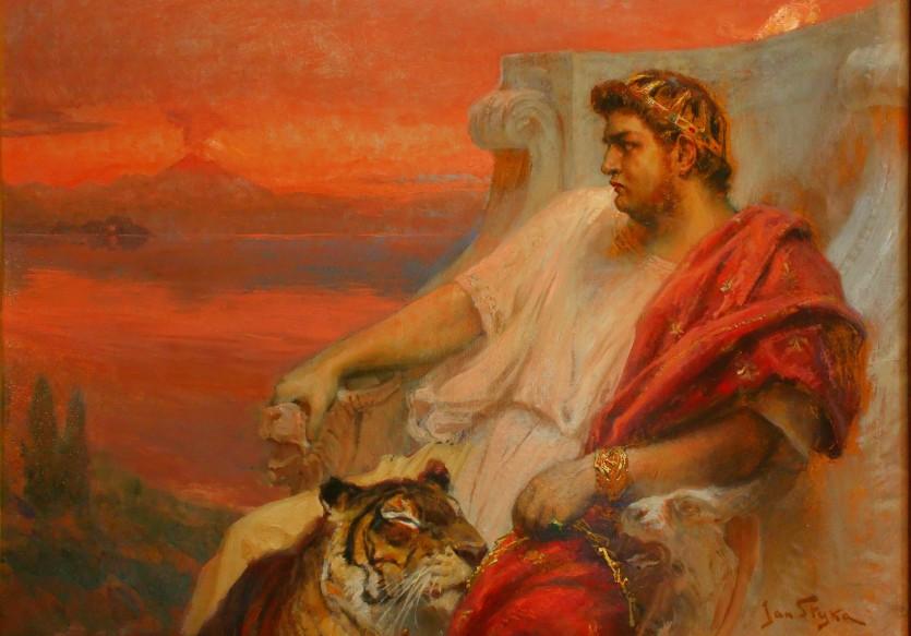 На пути к власти Нерон, построивший грандиозную резиденцию Золотой Дом, не остановился даже перед убийством матери