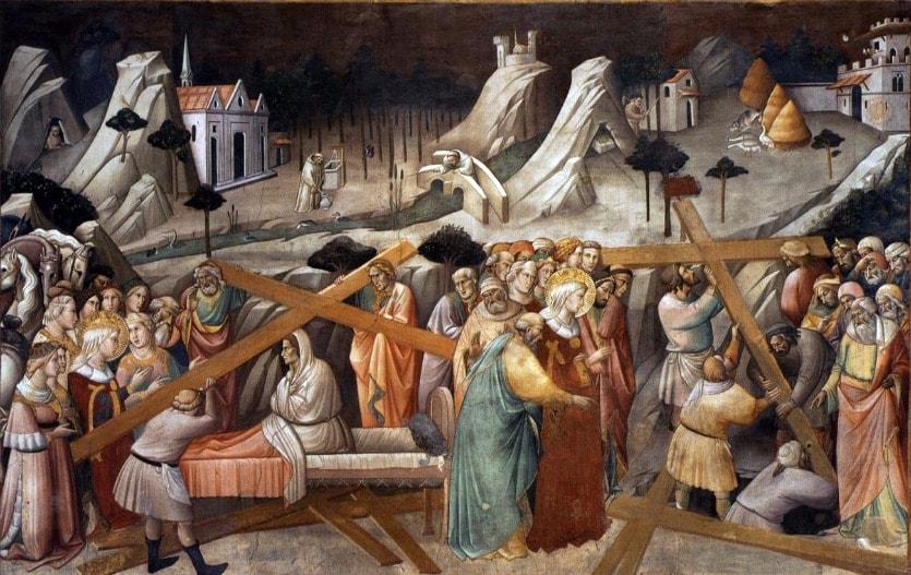 Обретение Животворящего Креста