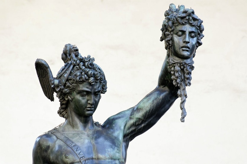 Персей с головой Гаргоны