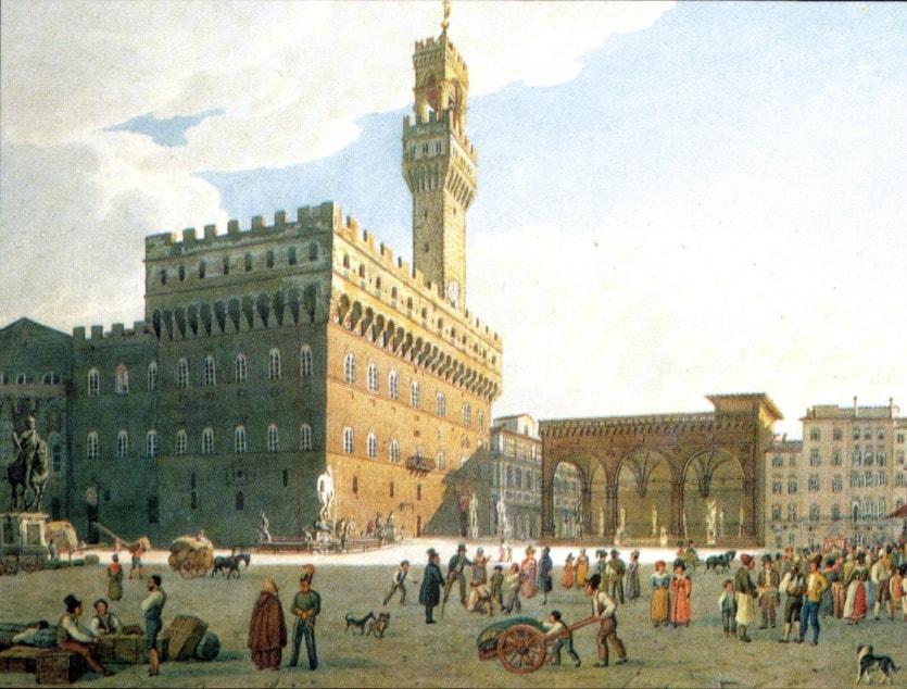 Площадь Сеньории история