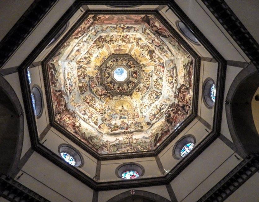 Санта-Мария-дель-Фьоре купол внутри