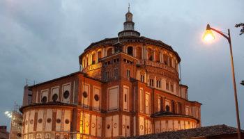 Церковь Санта-Мария-делле-Грацие с шедевром Леонардо да Винчи «Тайная вечеря»