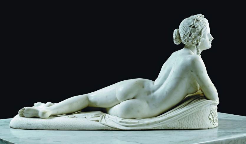 Скульптура Бартолини в Галерее Академии изящных искусств во Флоренции