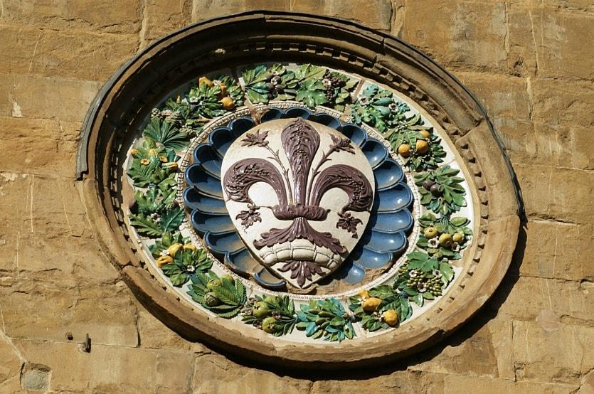 Церковь Орсанмикеле герб