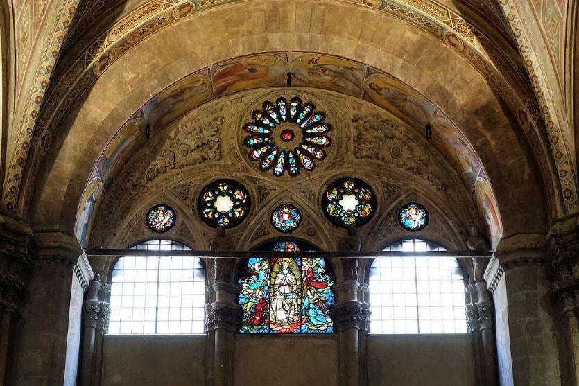 Церковь Орсанмикеле витражи