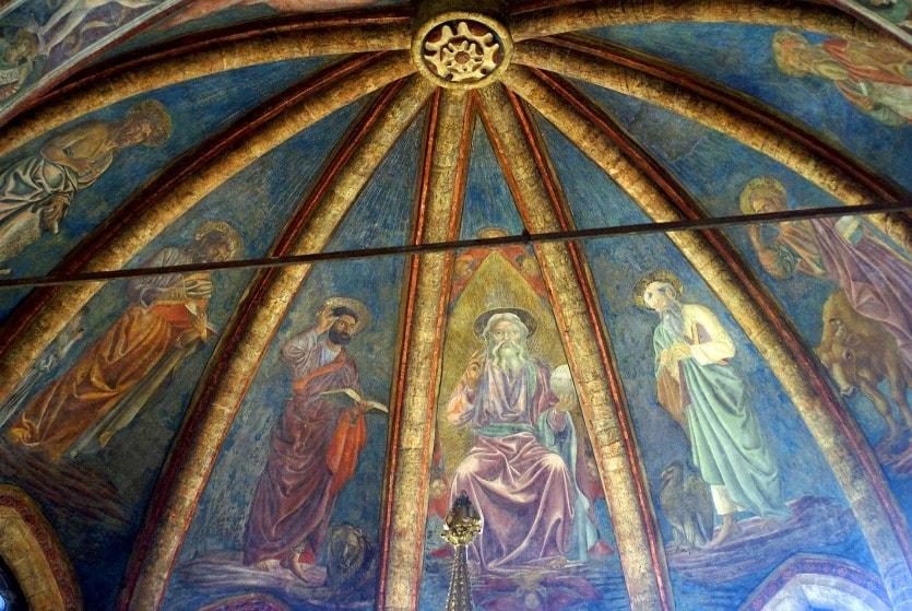 Церковь Сан-Заккария фрески