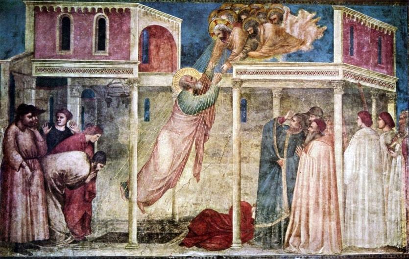 Живопись Джотто Базилика Санта-Кроче