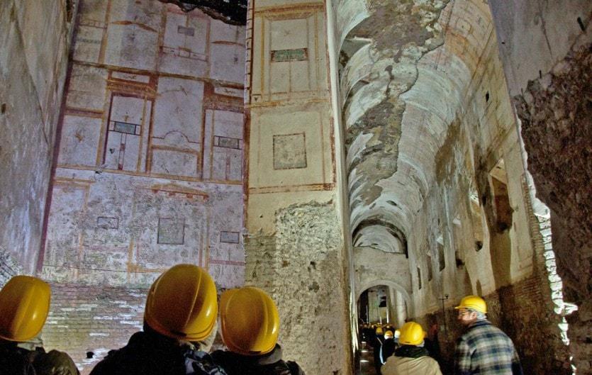 Золотой Дом Нерона после реконструкции