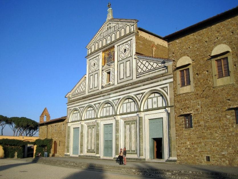 Сан-Миниато-аль-Монте архитектура