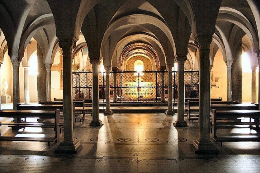 Сан-Миниато-аль-Монте крипта