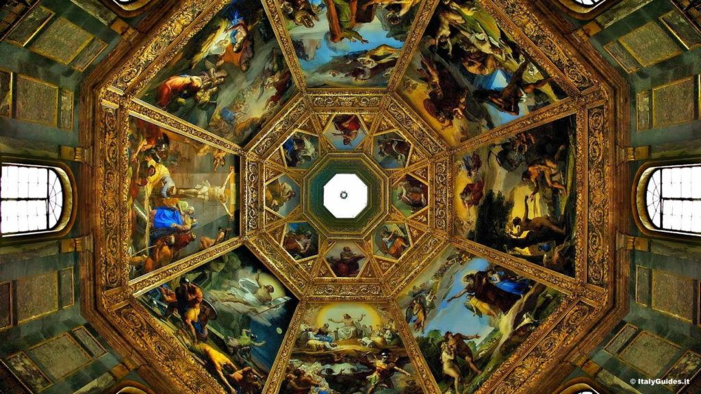 КапеллаМедичи - шедевр Микеланджело