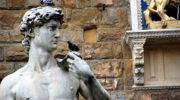Лоджия Ланци с 15 статуями на одной площади