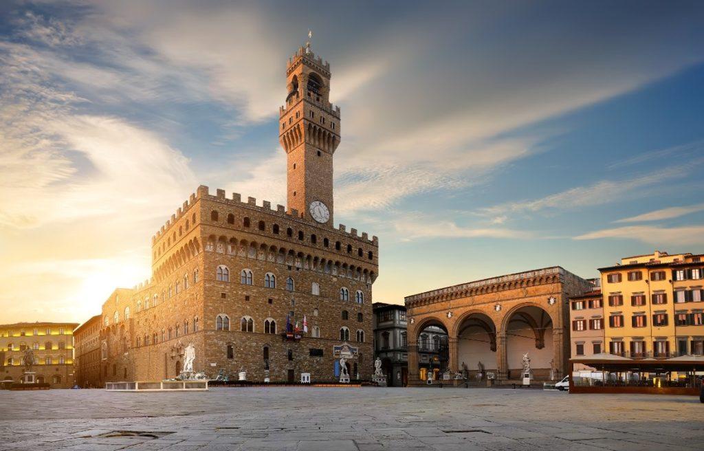 Площадь Синьории – место политических сражений