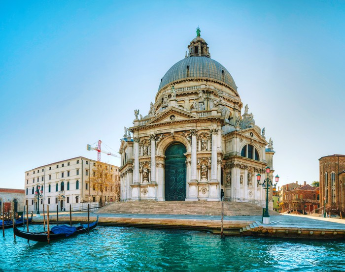 Санта-Мария делла Салюте в Венеции – самый большой купольный храм