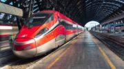 Скоростной поезд FrecciaRossa из Рима во Флоренцию