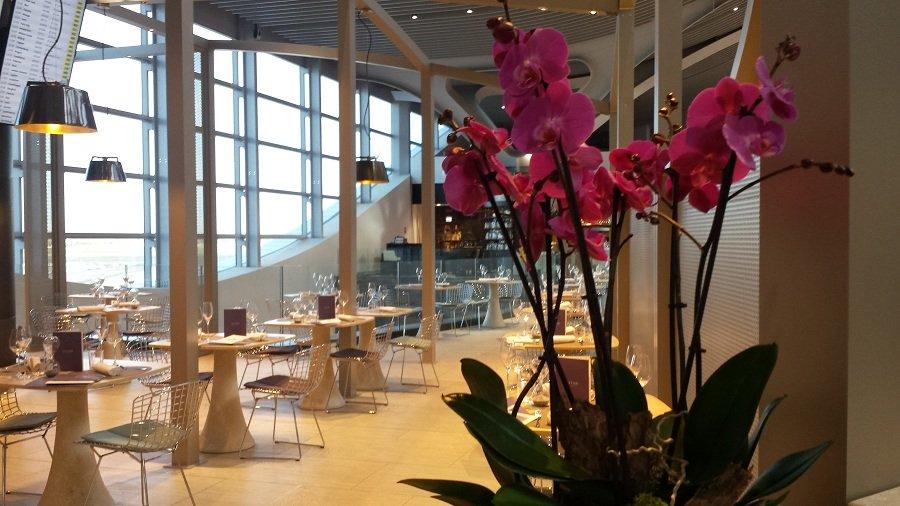Ресторан в аэропорте Фьюмичино